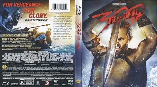 dvd cover 300 Rise Of An Empire