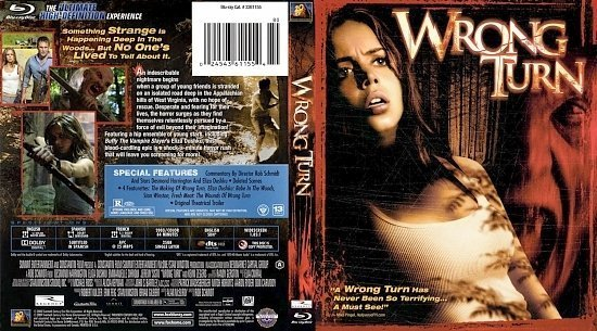 dvd cover Wrong Turn