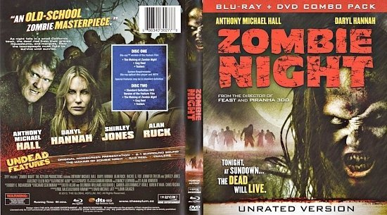 dvd cover Zombie Night