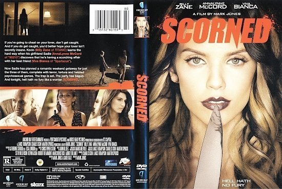 dvd cover Scorned R1