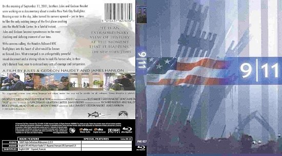 dvd cover 911
