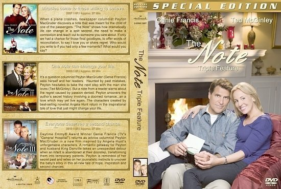 dvd cover The Note Triple Feature