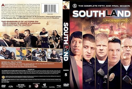 dvd cover Southland