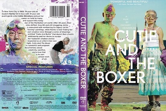 dvd cover Cutie and the Boxer R1
