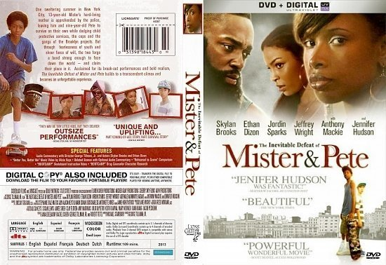 dvd cover The Inevitable Defeat Of Mister Pete R1