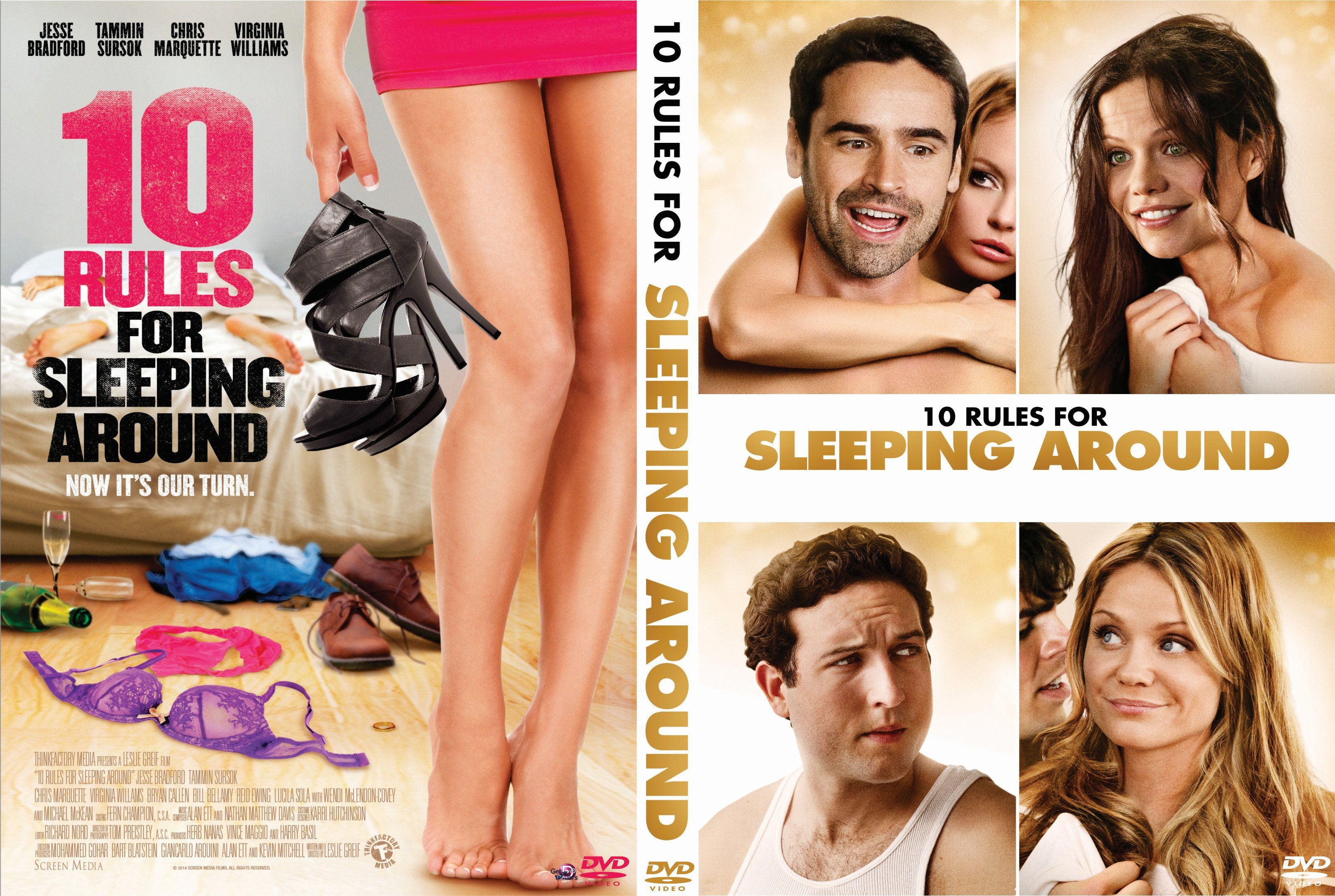 10 Rules for Sleeping Around | Dvd Covers and Labels