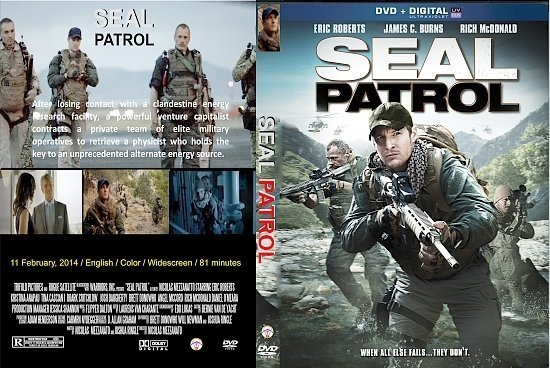 dvd cover Seal Patrol