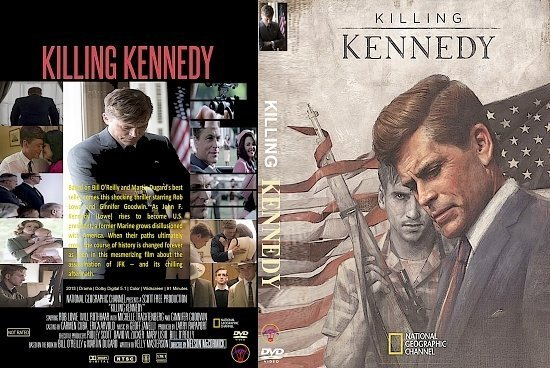 dvd cover Killing Kennedy R1