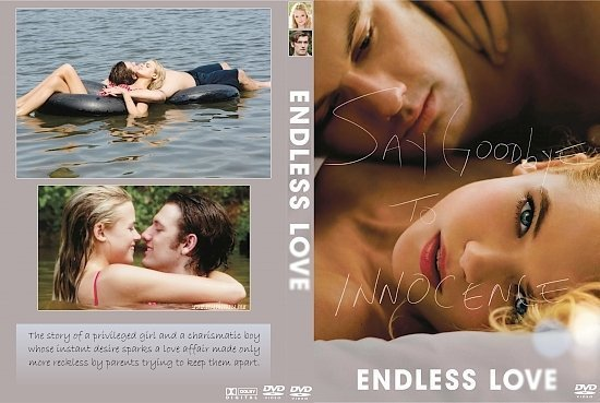 dvd cover Endless Love