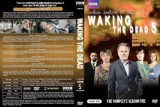 dvd cover Waking the Dead Season 5