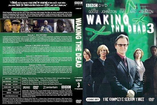 dvd cover Waking the Dead Season 3
