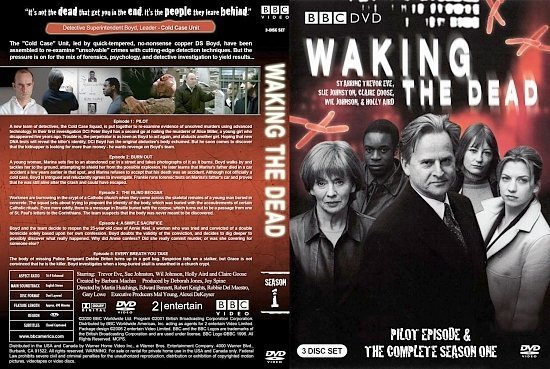 dvd cover Waking the Dead Season 1