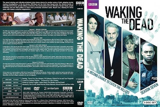 dvd cover Waking the Dead Season 7
