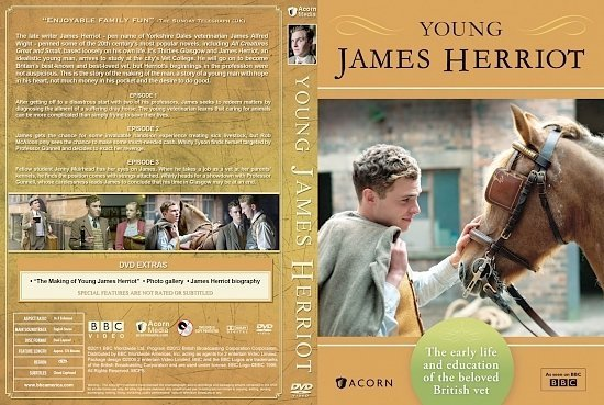 dvd cover Young James Herriot