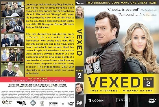dvd cover Vexed Series 2
