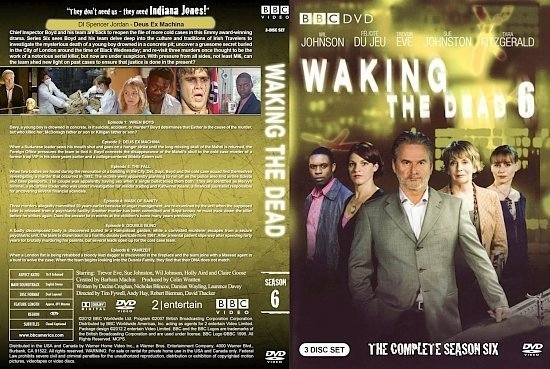 dvd cover Waking the Dead Season 6