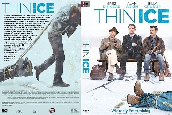 dvd cover Thin Ice