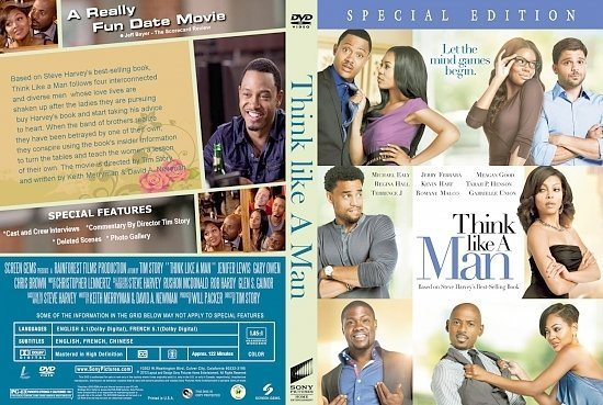 dvd cover Think Like A Man