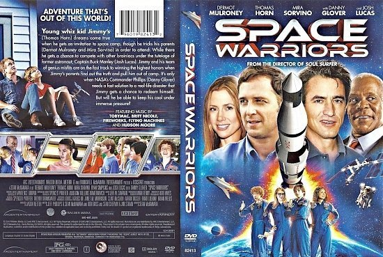 dvd cover Space Warriors