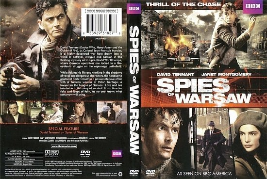 dvd cover Spies of Warsaw