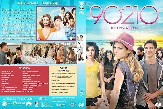 dvd cover 90210 Season 5