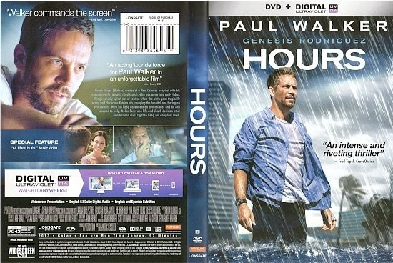 dvd cover Hours R1