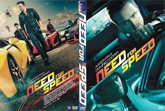 dvd cover Need for Speed