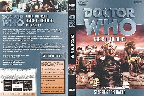 dvd cover Doctor Who Genesis Of The Daleks