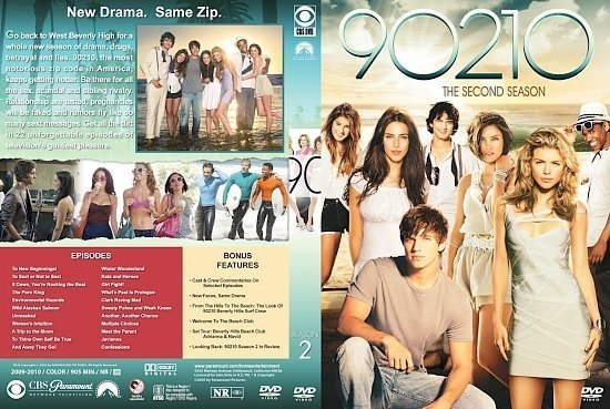 dvd cover 90210 Season 2