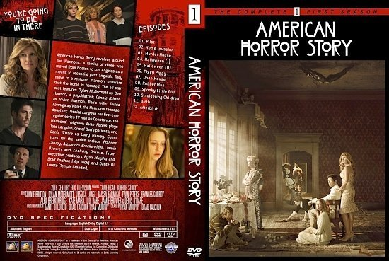 dvd cover american horror story season 1 dm