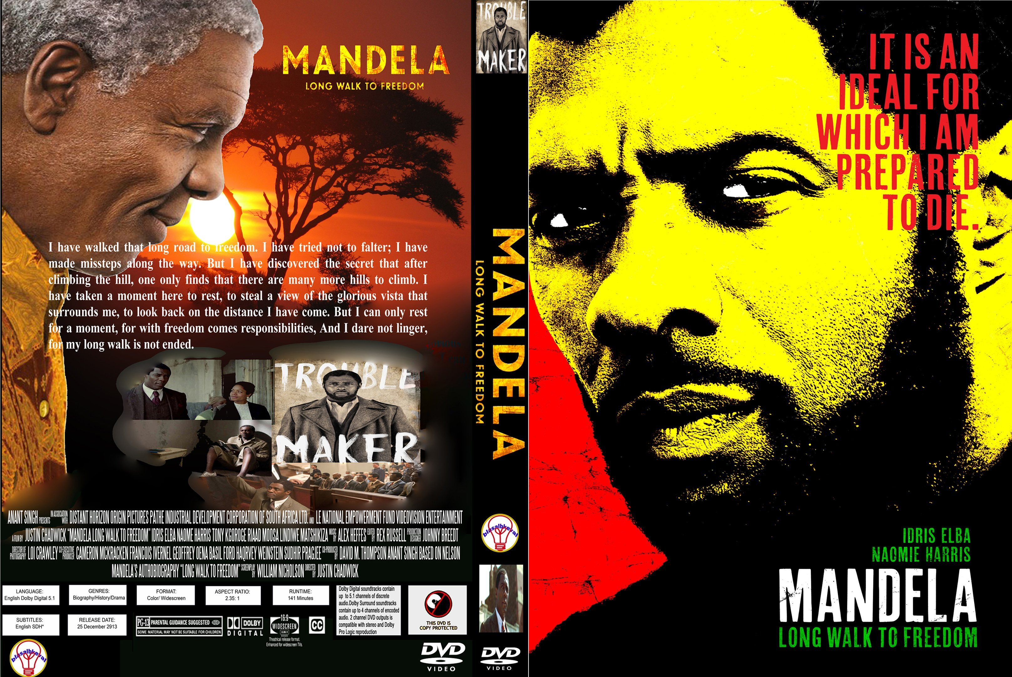 mandela long walk to freedom Nelson mandela deserves a great movie this isn't it read common sense media's mandela: long walk to freedom review, age rating, and parents guide.