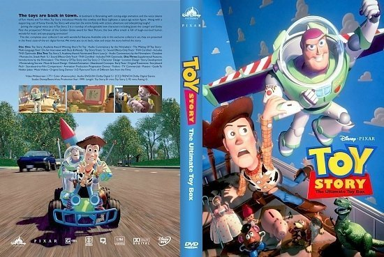 dvd cover Toy Story The Ultimate Toy Box