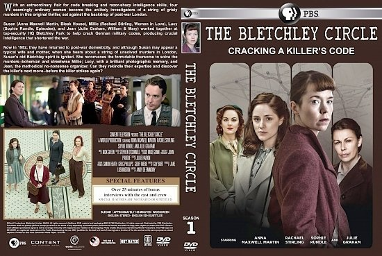 dvd cover The Bletchley Circle Season 1