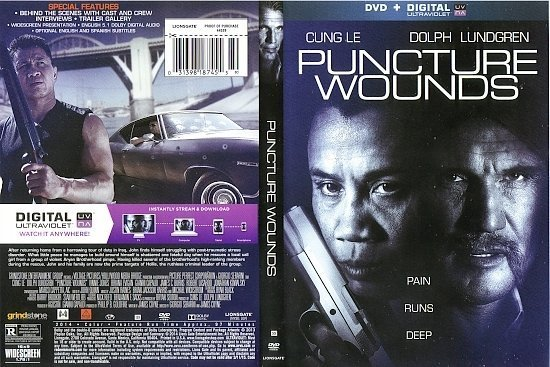 dvd cover Puncture Wounds R1
