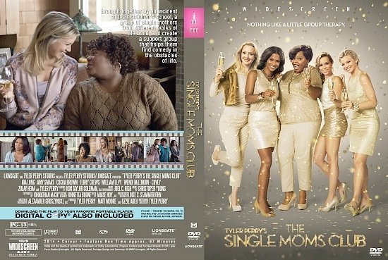 dvd cover The Single Moms Club R1