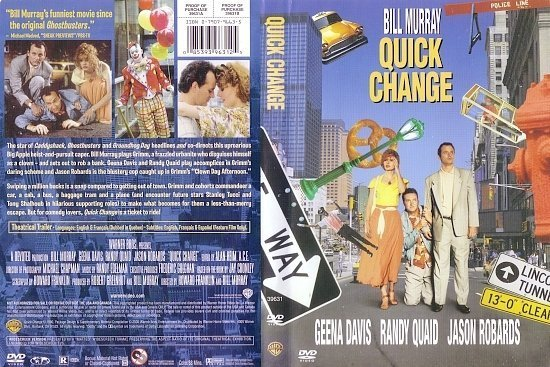 dvd cover Quick Change (1990) R1