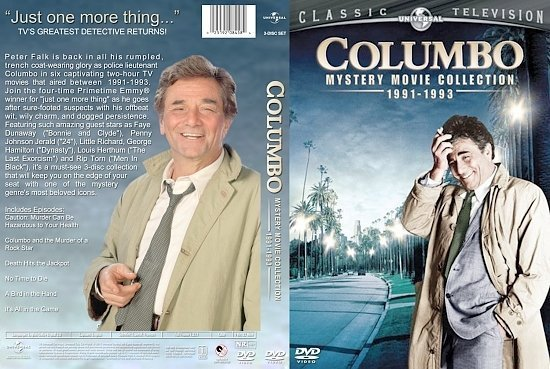 dvd cover Columbo Mystery Movie Collection 1991 1993