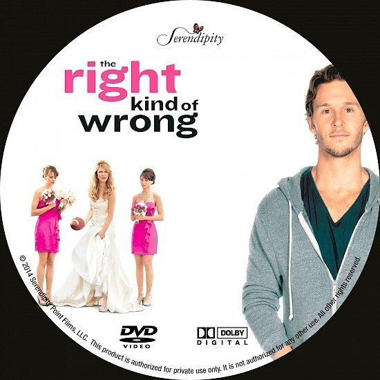 dvd cover The Right Kind of Wrong R1 Custom
