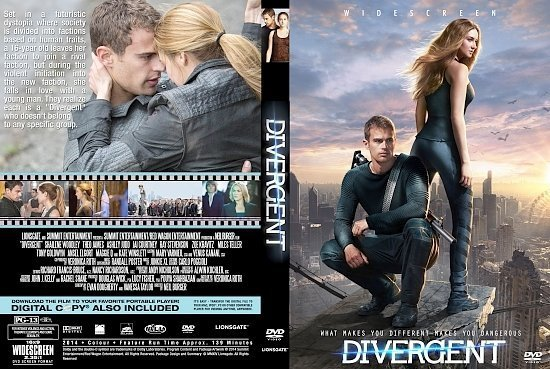 dvd cover Divergent R0