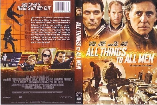 dvd cover All Things To All Men R1