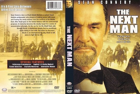 dvd cover The Next Man (1976) R1
