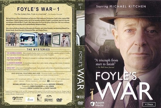 dvd cover Foyle s War S1