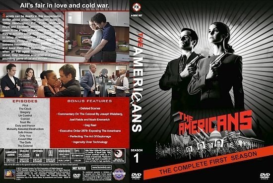 dvd cover Americans The S1