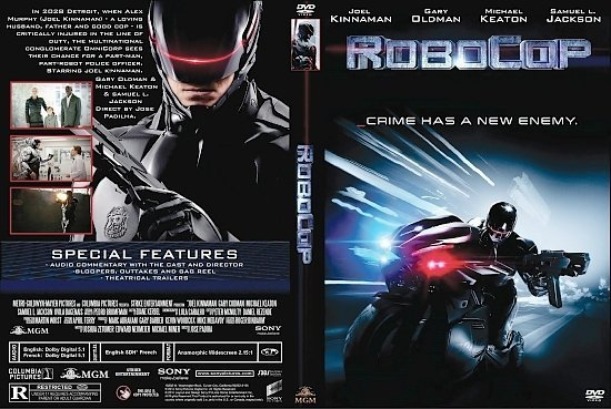 dvd cover RoboCop R1