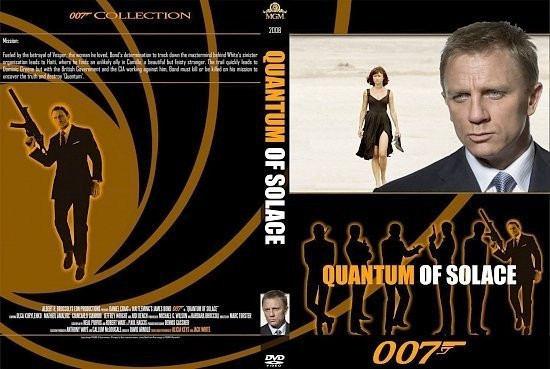 dvd cover Quantum Of Solace