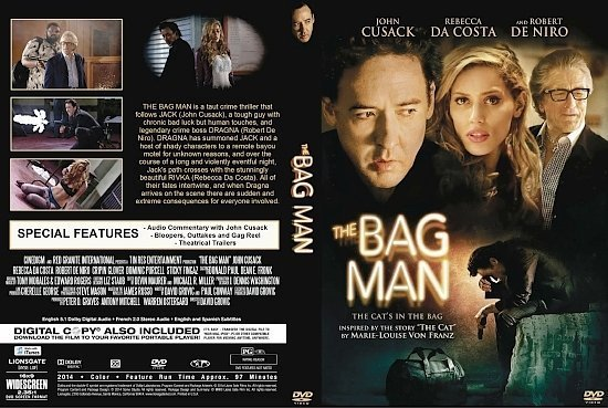 dvd cover The Bag Man R1