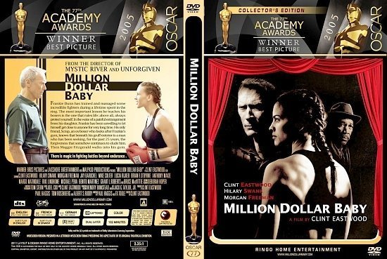 dvd cover Million Dollar Baby