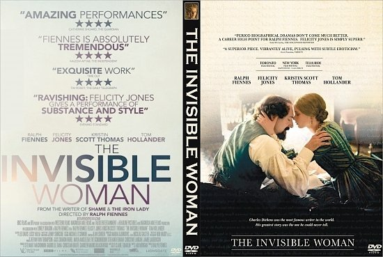 dvd cover The Invisible Woman