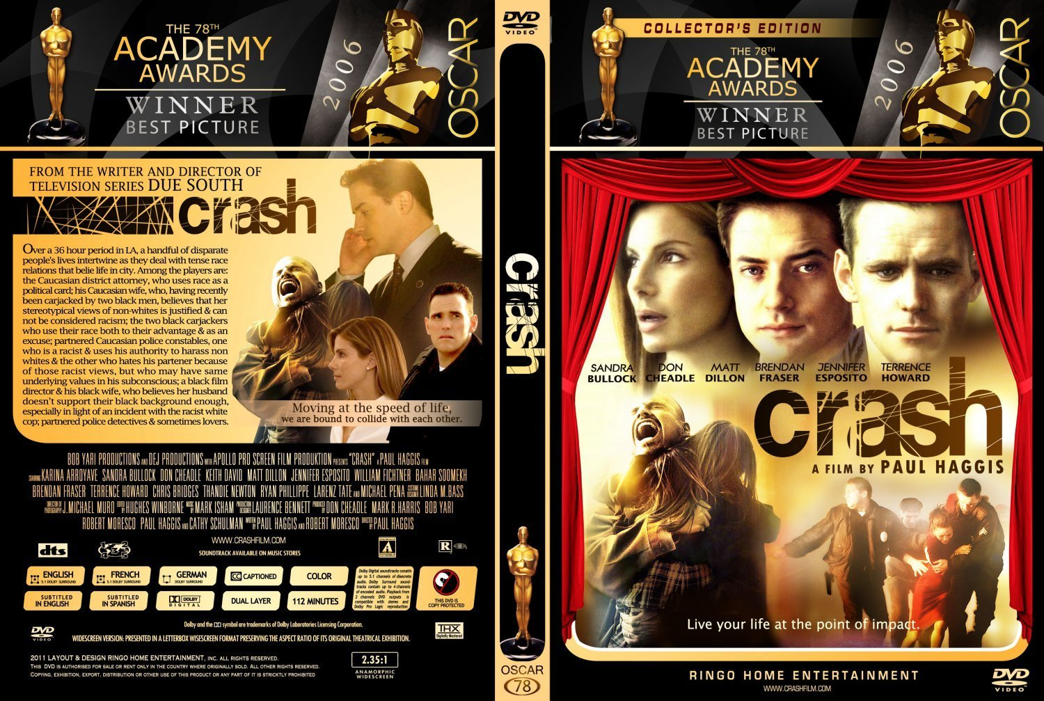 the movie crash essay papers This film was released to illustrate the reality or the outcomes of racial prejudice in the society the story took place in the bustling city of los angeles.