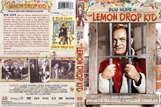 dvd cover The Lemon Drop Kid (1951) R1